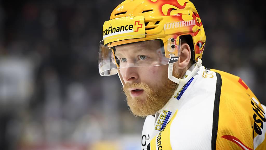 Ehemaliger Topskorer des HC Lugano: In seiner Zeit in der National League trug Linus Klasen fast immer den Goldhelm