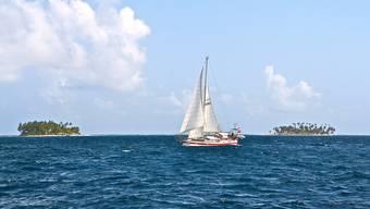 Die «Alua» unterwegs auf dem Karibischen Meer nahe des Panamakanals.