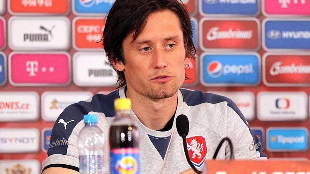 Trotz langer Absenz noch immer gefragt: Tschechiens «Altstar» Tomas Rosicky