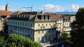 Der traditionsreiche «Schützen» in Rheinfelden wird derzeit erneuert.