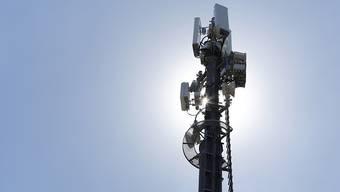 Tausende neue Mobilfunkantennen müssen in der Schweiz aufgestellt werden, um den neuen Standard 5G rasch einführen zu können. (Archivbild)