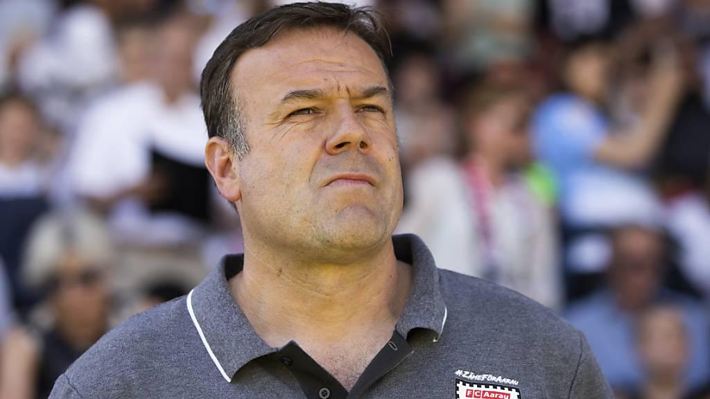 FC Aarau ersetzt Trainer Rahmen durch Stephan Keller