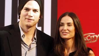 Ashton Kutcher, hier mit seiner Frau Demi Moore (Archiv)