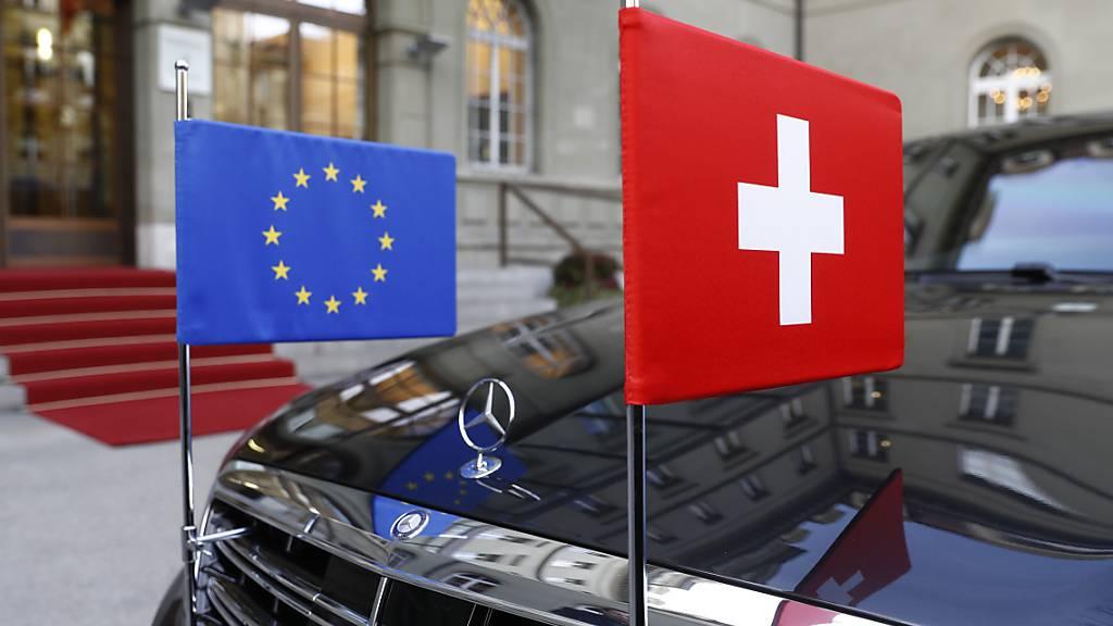 Dauerthema EU-Rahmenabkommen: Der Nationalrat hat am Mittwoch erneut über die Ziele des Abkommens gesprochen - ohne neuen Erkenntnisse. (Themenbild)