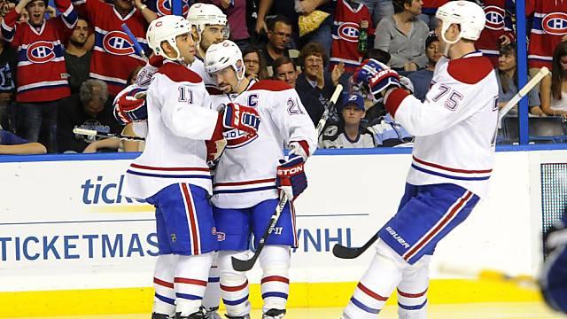 Jubel bei den Montreal Canadiens