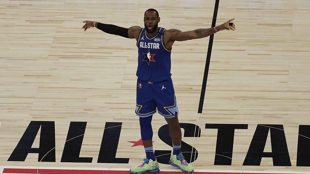 Team LeBron siegt im NBA-Allstar-Game zu Ehren von Kobe Bryant