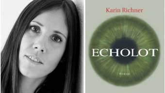 Die Aargauer Autorin Karin Richner mit ihrem neuen Roman «Echolot».