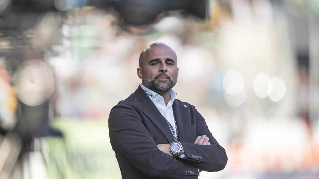 St. Gallens Cheftrainer Giorgio Contini muss über die Bücher.