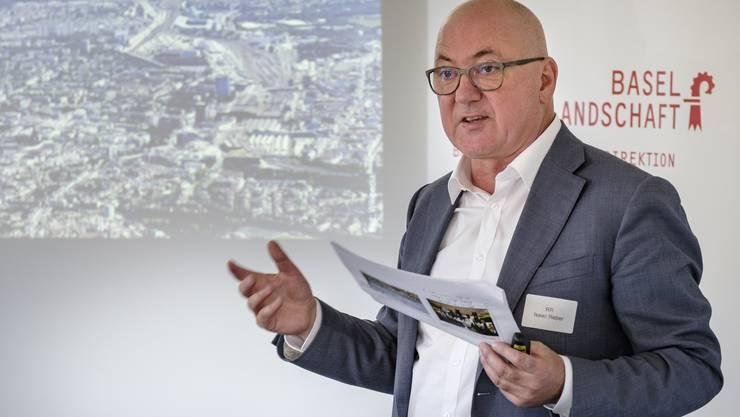 Will als geistiger Vater die Idee rehabilitieren: der neue Baudirektor Isaac Reber (Grüne)