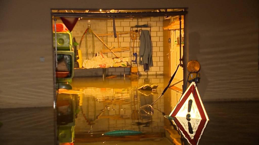 Unwetter führen in der Ostschweiz zu Überschwemmungen