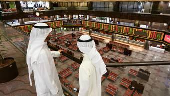 Börse in Kuwait, einem Hot Spot der Ölkrise.