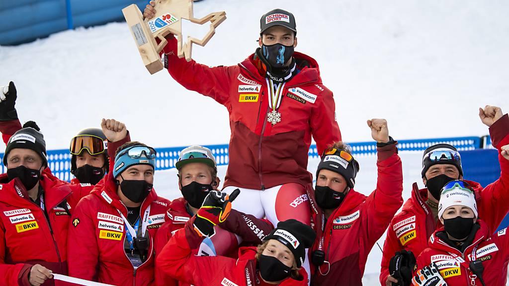 Jubelt das Schweizer Team in Cortina auch am Mittwoch?