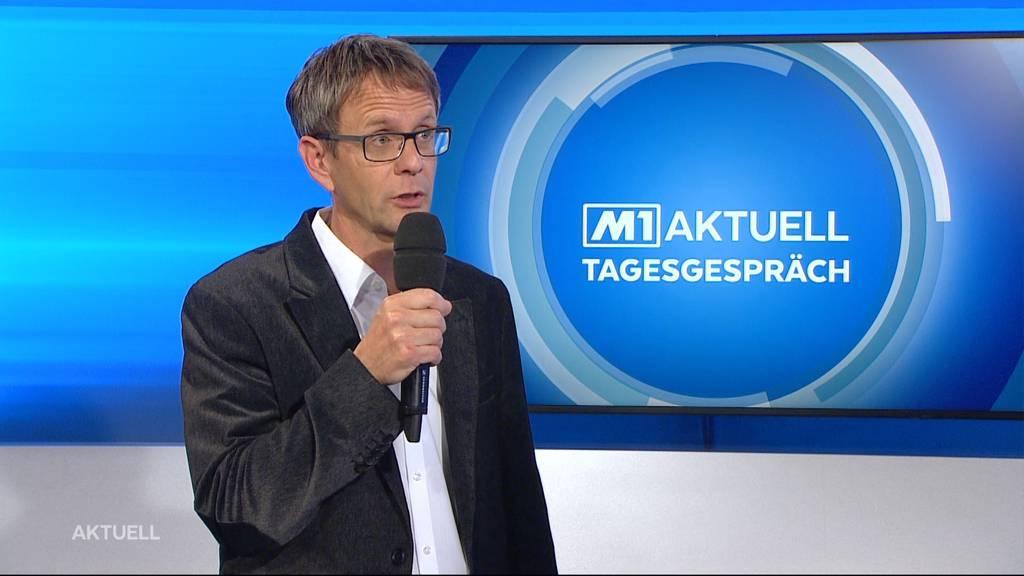 Fabian Dietiker über die Unterstützungsmassnahmen für die angeschlagenen Aargauer Wälder