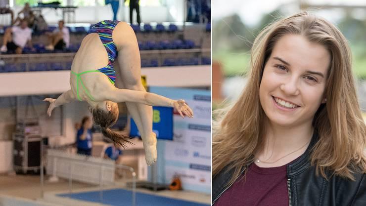 Im Juni sicherte sich Michelle Heimberg an den Junioren-Europameisterschaften in Helsinki vom 3-Meter-Brett die Silbermedaille.