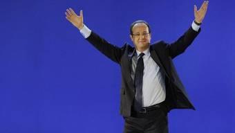 François Hollande gab fast 22 Millionen Euro für den Wahlkampf aus (Archiv)