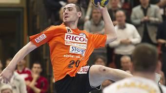 Aleksander Stojanovic traf für die Kadetten acht Mal ins Netz