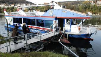 Die Rheinfähre von Full nach Waldshut
