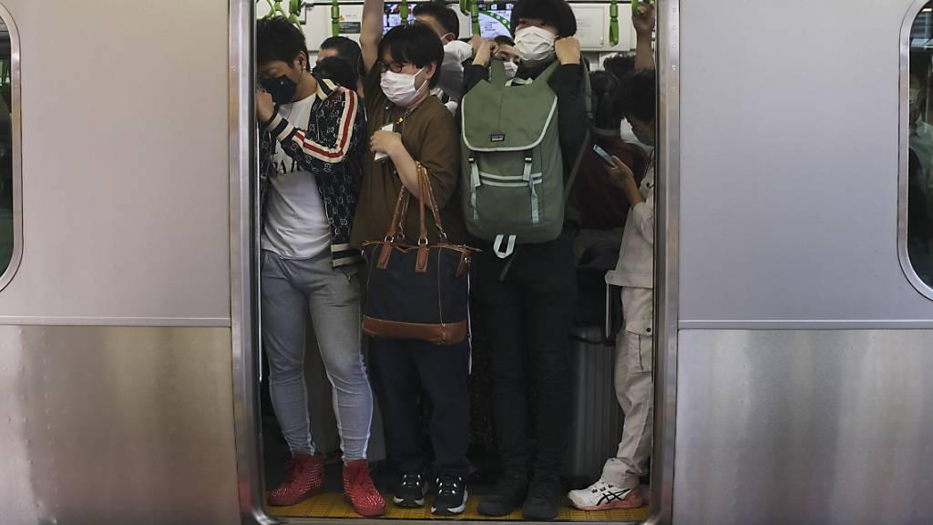 Dutzende Verletzte bei Erdbeben in Tokio