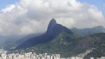 Blick auf Rio de Janeiro mit dem Corcovado