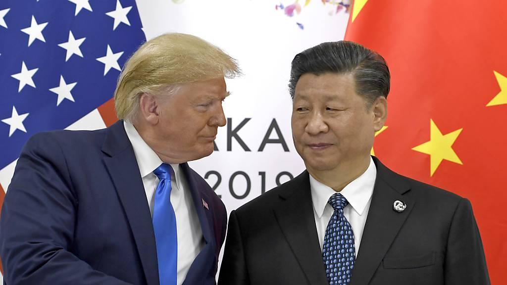 USA setzen chinesische Firmen auf schwarze Liste