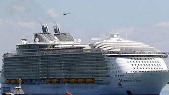 """Die """"Harmony of the Seas"""" ist das weltgrösste Kreuzfahrtschiff. (Archiv)"""
