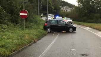 Auf der A22 in Liestal ereignete sich heute Morgen ein Autounfall. (zvg)