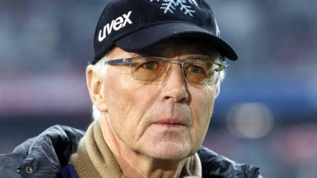 Franz Beckenbauer war nie überheblich (Archiv)
