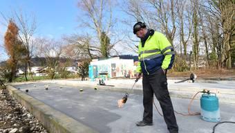 Bau von Pfadiheim in Niedergösgen geht voran