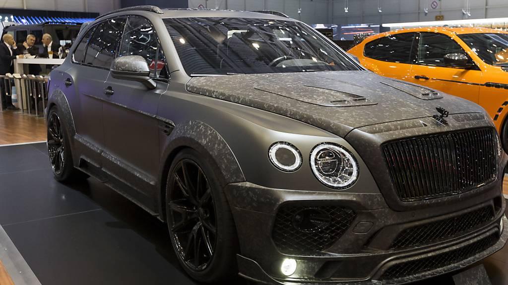 Bentley streicht rund 1000 Stellen in Grossbritannien