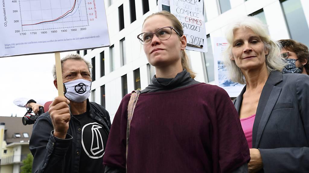 Freispruch für Klimaaktivisten in der Waadt aufgehoben