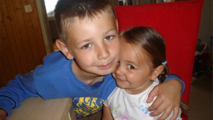 Marko und Valeria 2006: Damals wusste noch niemand, dass die «ganz normalen Kinder» zehn Jahre später schwerst behindert sein würden.