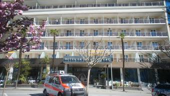 In diesem Hotel wurde die Tote gefunden. Kurz nach dem Fund wurde der Verdächtige festgenommen.