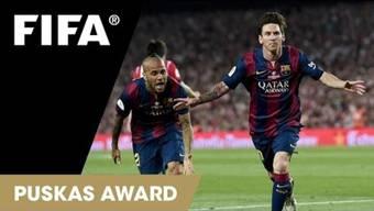Das schönste Tor des Jahres erhält den Puskas Award.