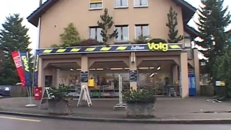 Volg-Laden in Zufikon überfallen