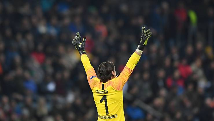 Yann Sommer gefällt es vor dem Tor von Borussia Mönchengladbach so gut, dass er bis 2023 dort bleiben will
