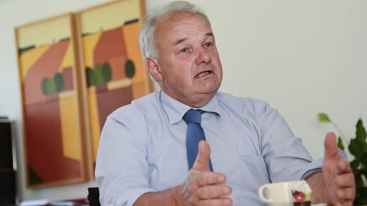 Christian Wanner (FDP) ist seit Anfang 1996 Vorsteher des Solothurner Finanzdepartements. Er ist 66 Jahre alt, wohnt mit seiner Frau in Messen und ist Vater eines erwachsenen Sohnes.