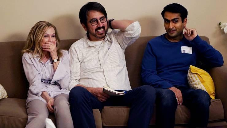 Kulturelle Missverständnisse: Emilys Eltern (Holly Hunter, Ray Romano) können zunächst nur wenig anfangen mit dem Pakistani-Freund ihrer Tochter (Kumail Nanjiani).
