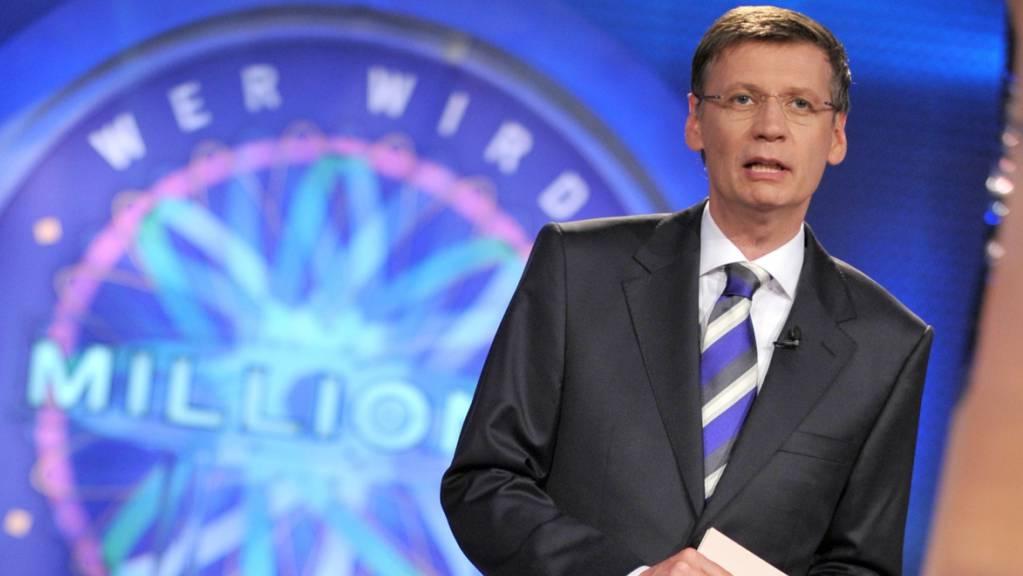 In der Rateshow «Wer wird Millionär?» mit Günther Jauch (Archivbild) hat ein Teilnehmer alle Fragen richtig beantwortet und sich zum Millionär gemacht.