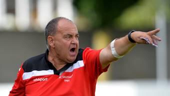 «Wir haben nicht gut verteidigt», sagt Solothurns Trainer Jürg Widmer über das Spiel gegen den FC Baden.