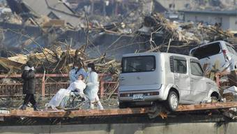 Strahlungsopfer in Japan