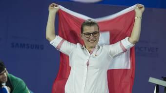 Das sagt Drucktechnologin Janine Bigler aus Lenzburg über ihre Bronze-Medaille in Abu Dhabi.