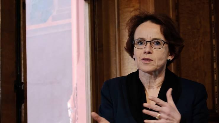Selbstkritisch: Eva Herzog räumt ein, dass das Sparpaket etwas voreilig geschnürt worden ist.