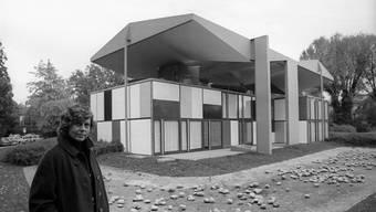 Heidi Weber, hier auf einem Bild von 1973, nahm den Pavillon in den Sechzigerjahren zusammen mit Le Corbusier in Angriff.