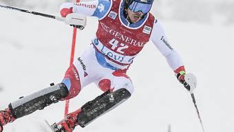 Marc Rochat überzeugt im Europacup-Slalom gleich zweimal mit der Bestzeit