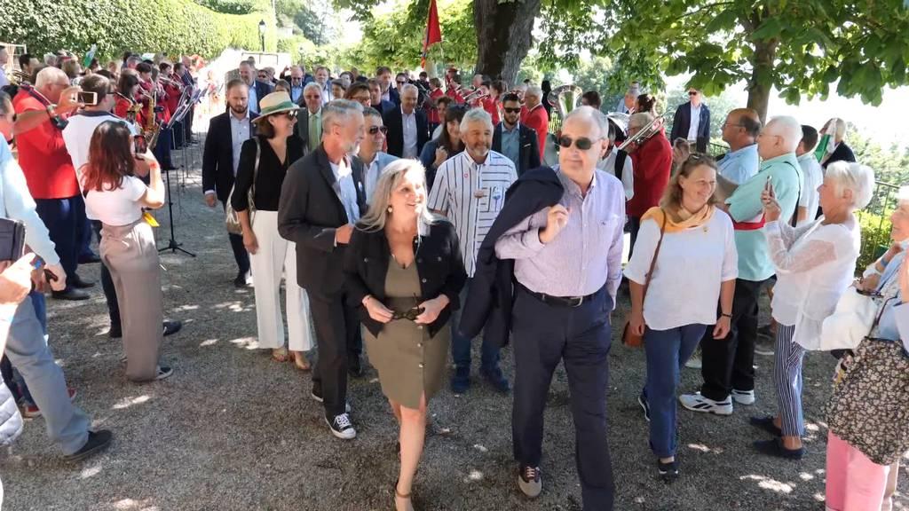 Tag Zwei des «Bundesratsreisli»: zu Besuch in Parmelins Heimat