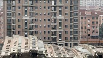 Unglückshaus in Shanghai