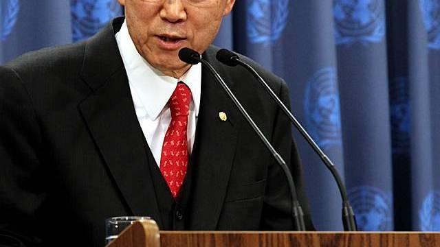 Besorgt über Sicherheit in Afghanistan: UNO-Generalsekretär Ban Ki Moon
