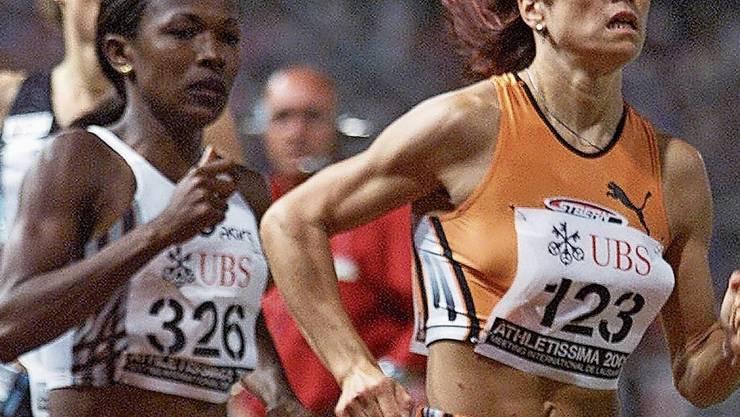 In Lausanne lief Anita Brägger am 4. Juli 2001 so schnell wie nie zuvor.