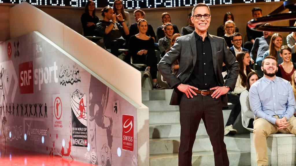 Sportpanorama: Matthias Hüppi verabschiedete sich