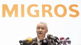 Fabrice Zumbrunnen, Präsident der Generaldirektion des Migros-Genossenschafts-Bundes, hat an der Affäre Piller keine Freude.